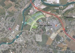 Plan de localisation du Village de Marques
