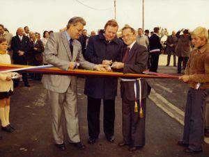 Inauguration de l'allée Halver